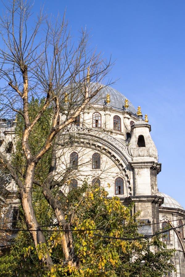 Мечеть Dolmabahce в Стамбуле, Турции стоковые изображения rf