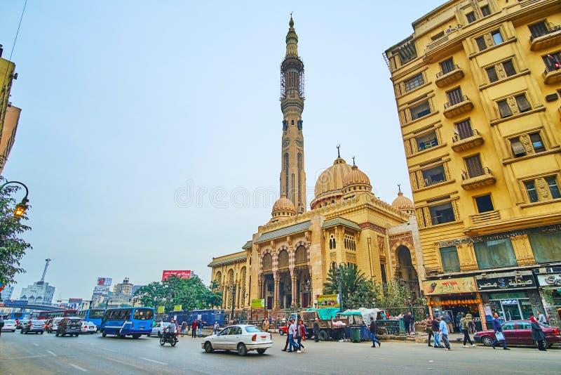 Мечеть El Fath, Каир, Египет стоковое изображение
