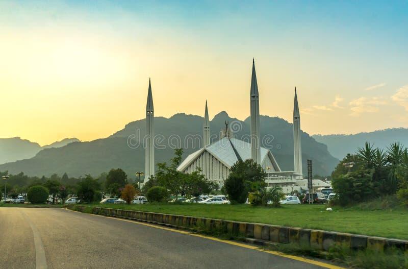 Мечеть Famouse Faisal стоковая фотография