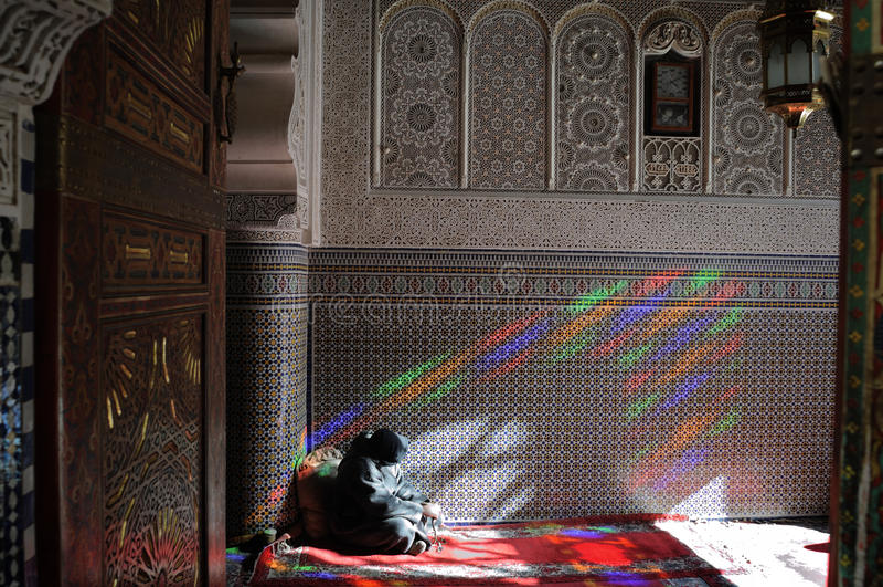 мечеть fez стоковое изображение