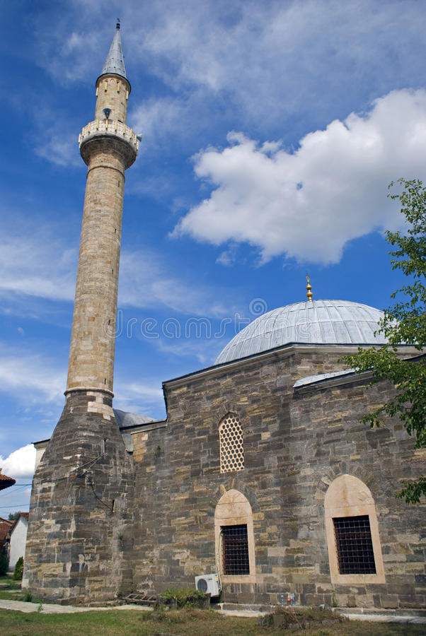 Мечеть Hadum, Gjakova, Косово стоковые фото