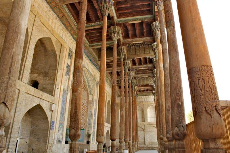 Мечеть Haouz Bolo в Бухаре стоковая фотография rf