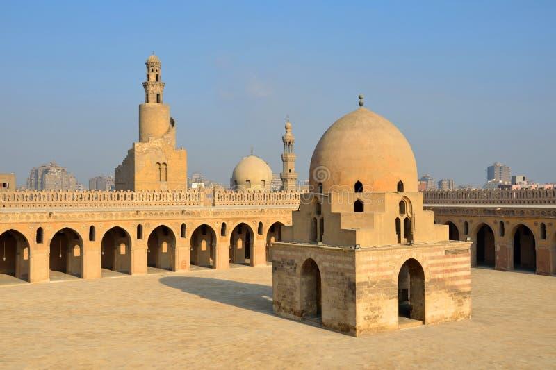 Мечеть Ibn Tulun стоковые изображения rf