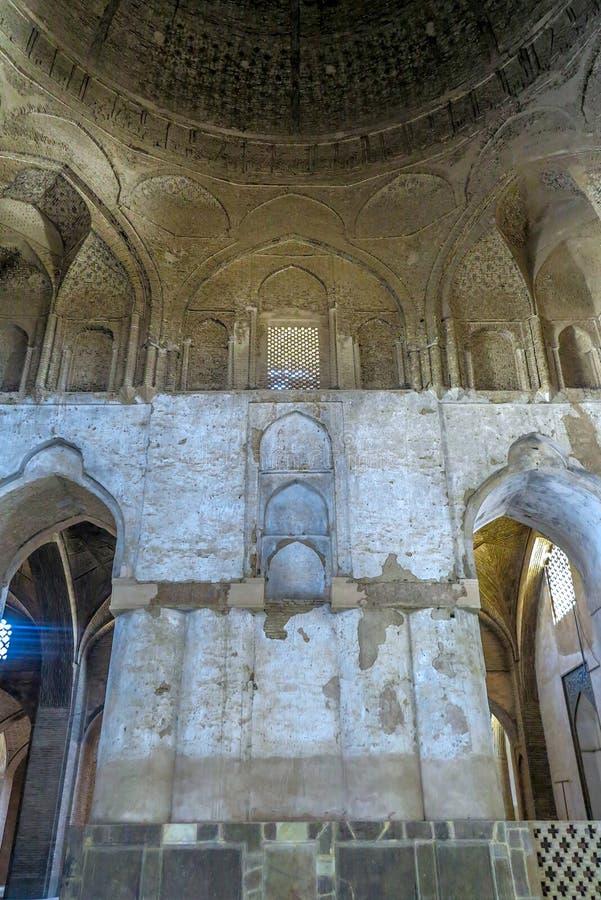 Мечеть 11 Isfahan Jameh стоковое фото