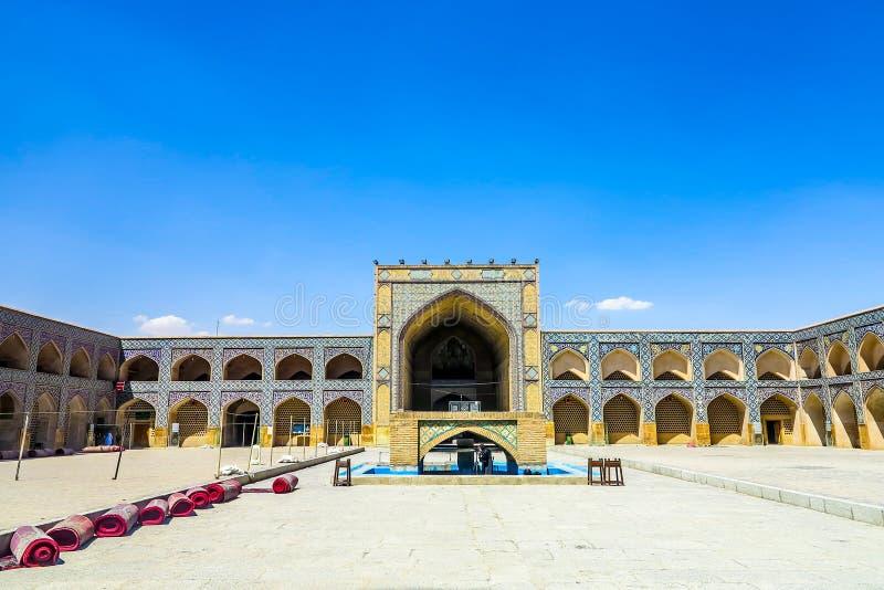 Мечеть 13 Isfahan Jameh стоковое фото