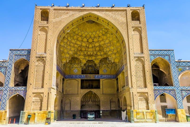 Мечеть 14 Isfahan Jameh стоковое изображение rf