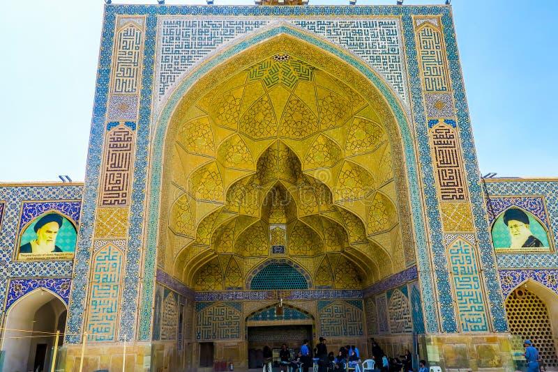 Мечеть 16 Isfahan Jameh стоковые изображения