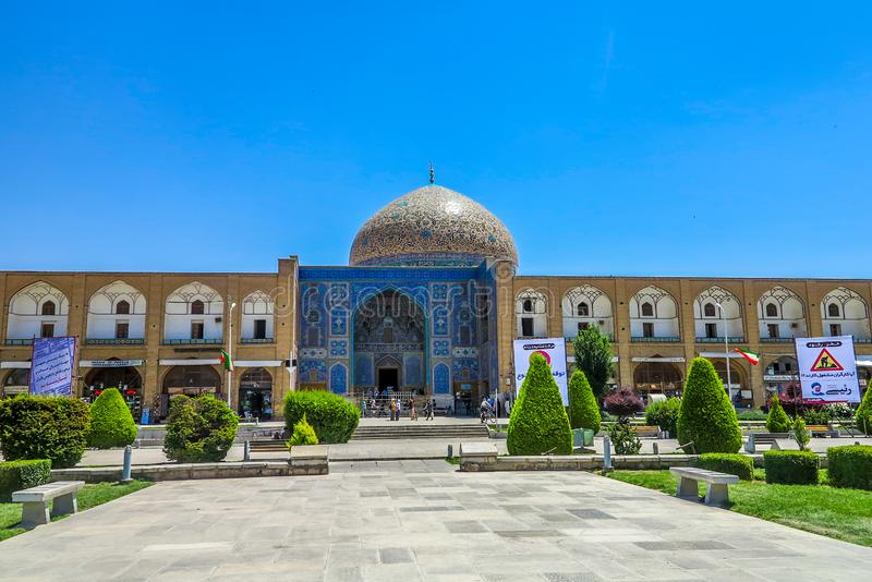 Мечеть 01 Isfahan Lotfollah стоковое фото rf