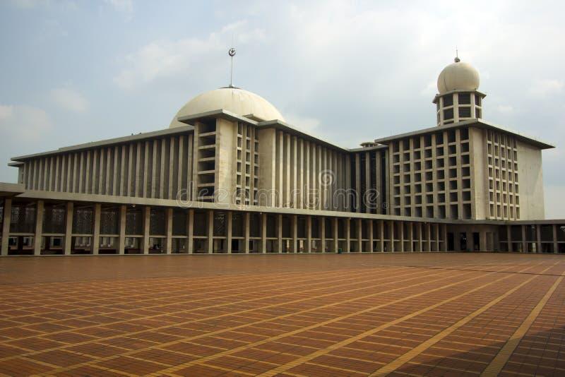Мечеть Istiqlal, Джакарта, Индонезия стоковая фотография rf