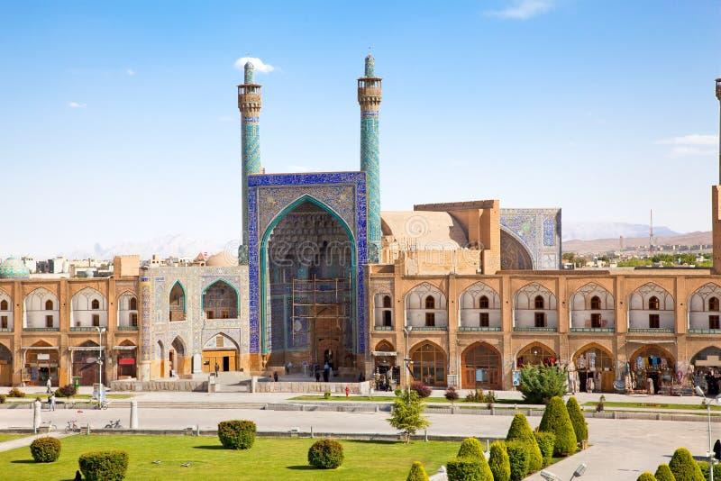 Мечеть Jame Abbasi, Esfahan, Иран стоковое изображение