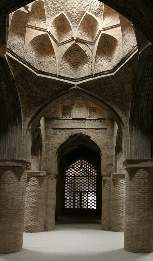 мечеть jameh пятницы нутряная Ирана isfahan стоковая фотография