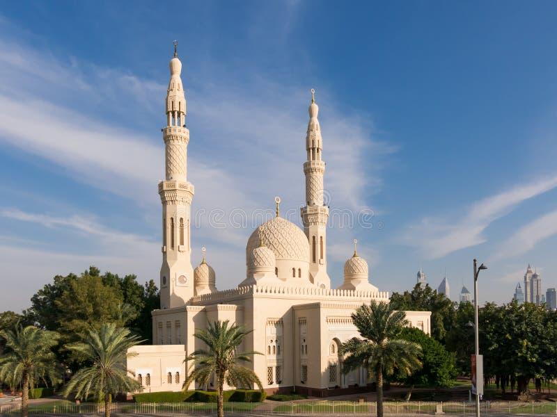Мечеть Jumeirah в Дубай стоковые изображения rf