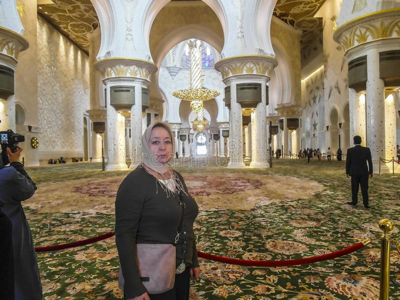 мечеть jumeirah Дубай стоковые изображения