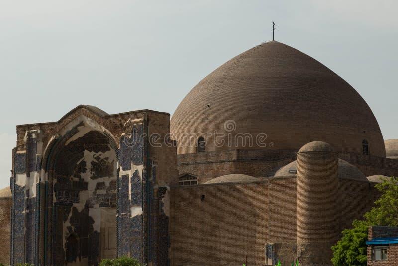 Мечеть Kabud стоковое фото rf