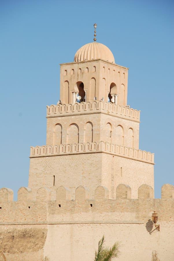мечеть kajruane стоковое изображение rf