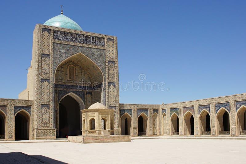 Мечеть Kalon, Бухара, Узбекистан стоковое фото rf