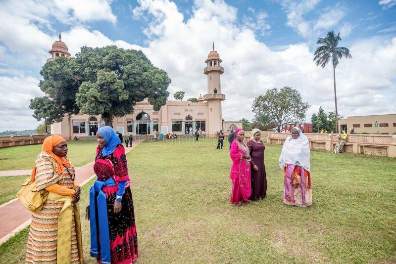 Мечеть Kibuli в городе Кампалы, Уганде стоковое фото