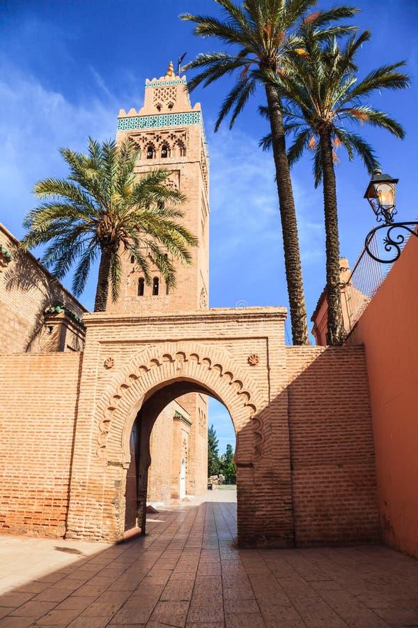 Мечеть Koutoubia стоковое изображение rf