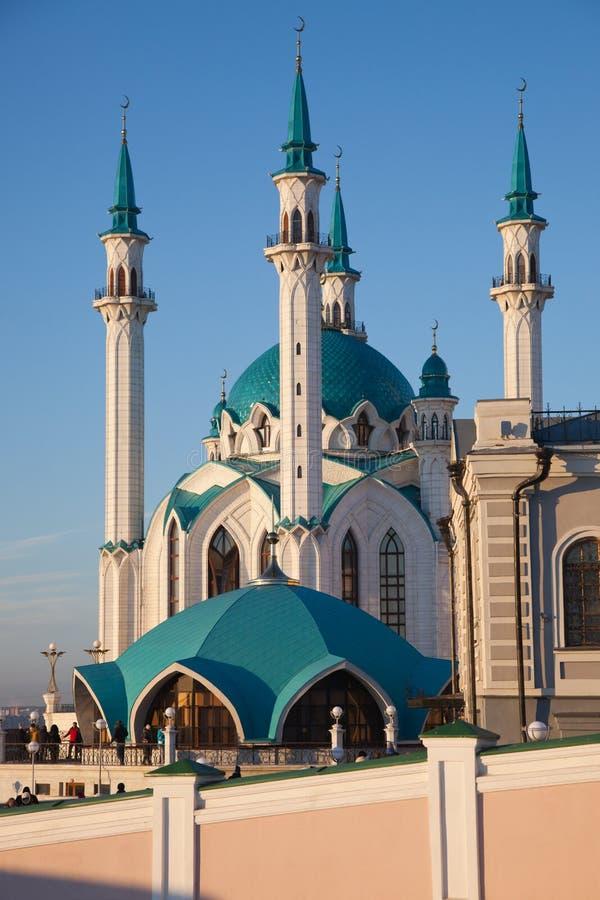 Мечеть Kul-Sharif в Казани Кремле стоковое фото