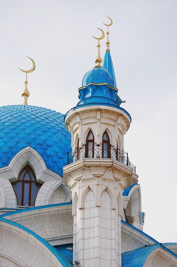Мечеть Kul Sharif в Казани Кремле, России стоковые фотографии rf