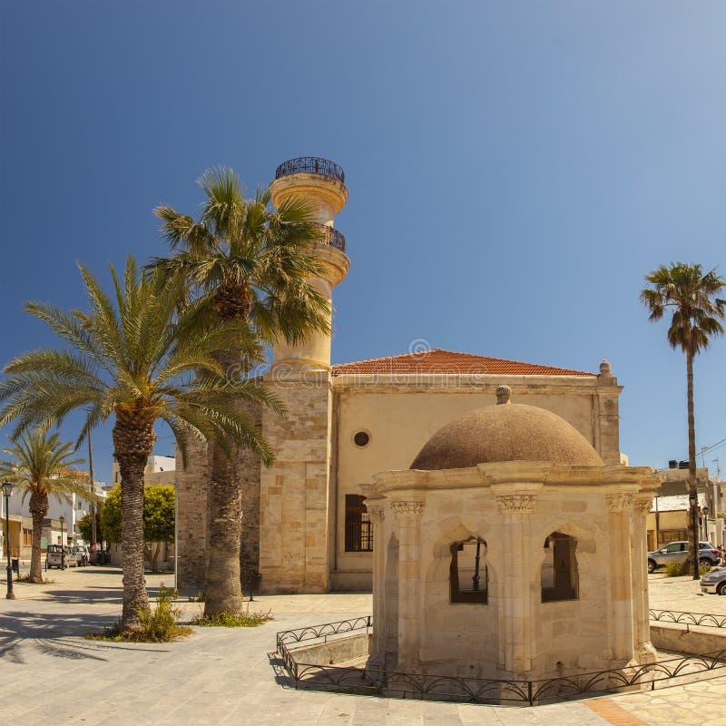 Мечеть Lerapetra стоковые изображения rf