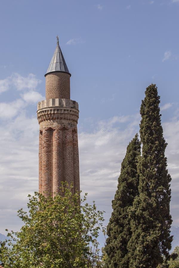Мечеть minare Yivli стоковые фото