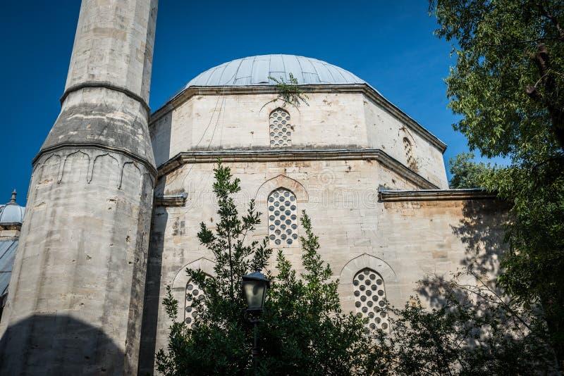 мечеть mostar стоковые фото