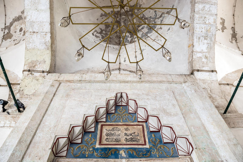 мечеть mostar стоковые изображения rf