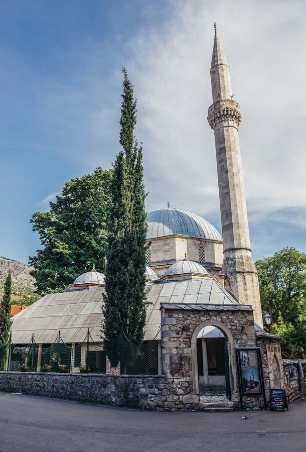 мечеть mostar стоковое изображение rf