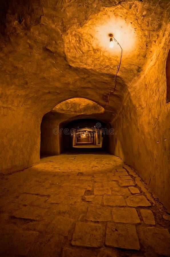 Мечеть Nain старая подземная стоковые изображения
