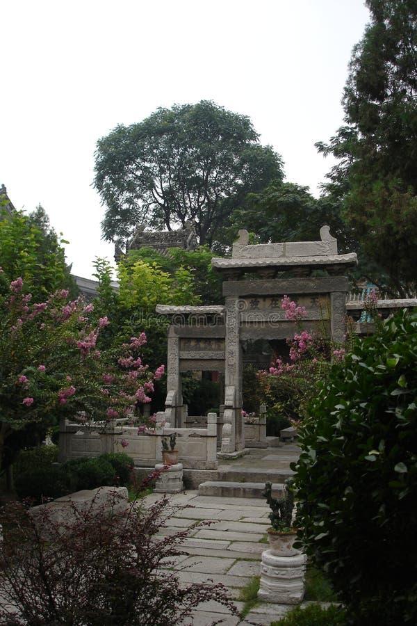 мечеть s xian двери стоковое изображение rf