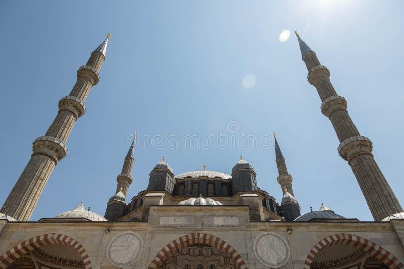 Мечеть Selimiye, Edirne, Турция стоковые изображения rf