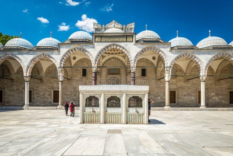 Мечеть Suleymaniye стоковое изображение