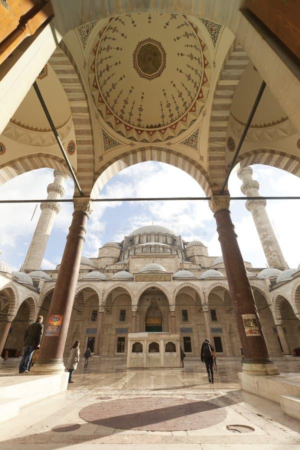 Мечеть Suleymaniye стоковые изображения
