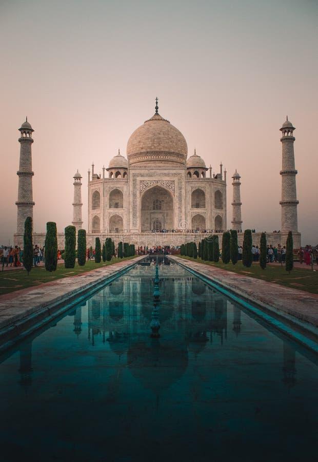 Мечеть Taj, построенная shahjahan стоковая фотография