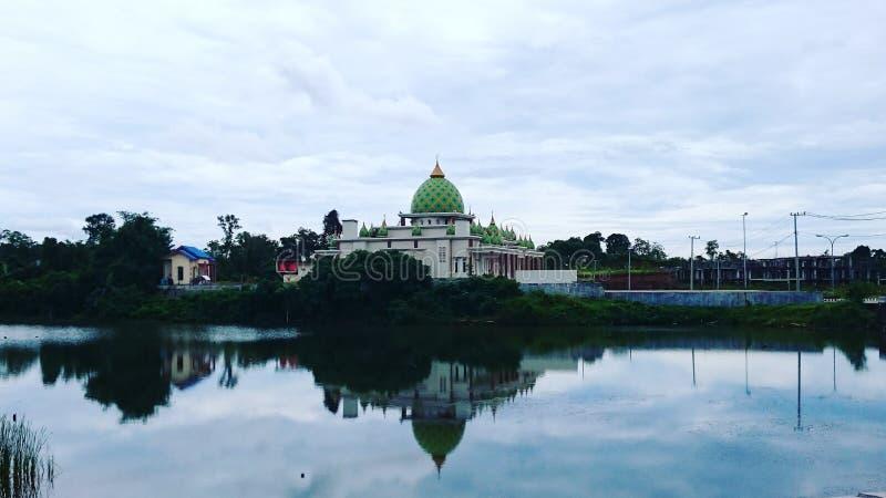 Мечеть Telaga Ungu стоковые фото