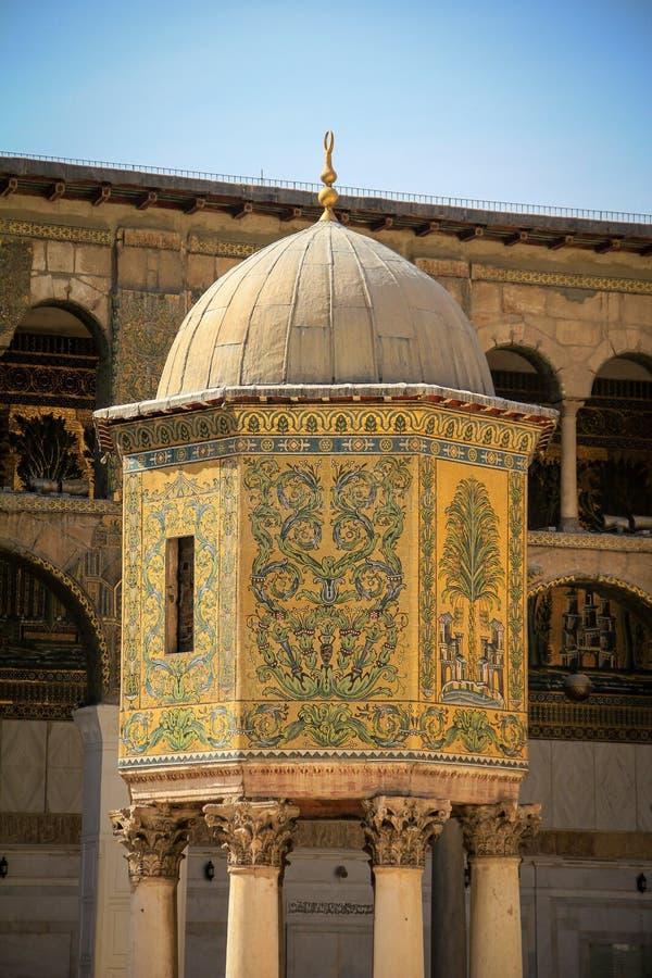 Мечеть Umayyad, Damaskus стоковая фотография rf