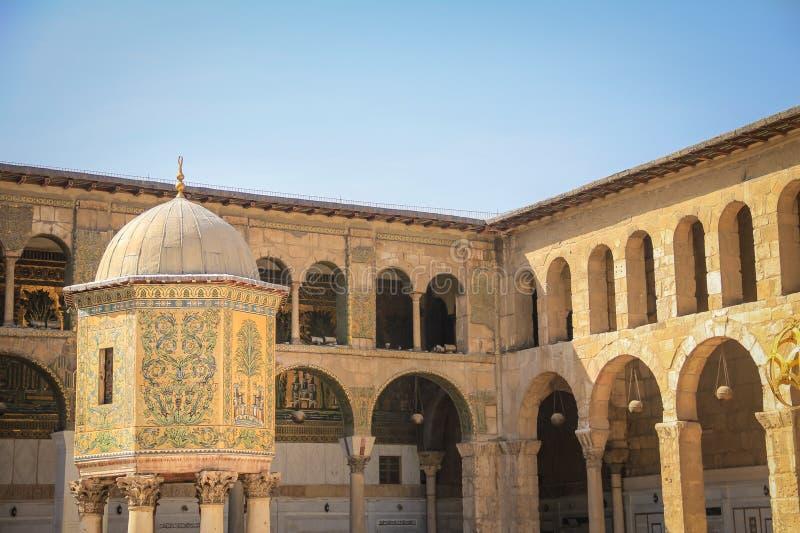 Мечеть Umayyad, Damaskus стоковое фото