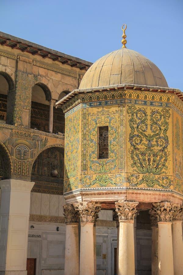 Мечеть Umayyad, Damaskus стоковая фотография