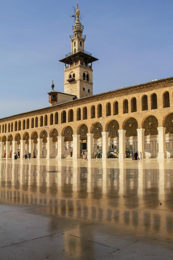 Мечеть Umayyad, Damaskus стоковые фото