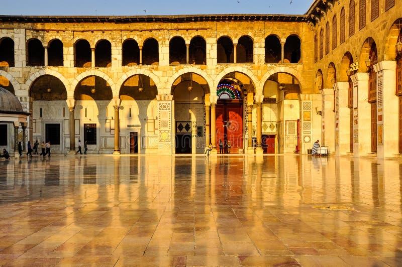 Мечеть Ummyad в Дамаске, Сирии стоковое изображение rf