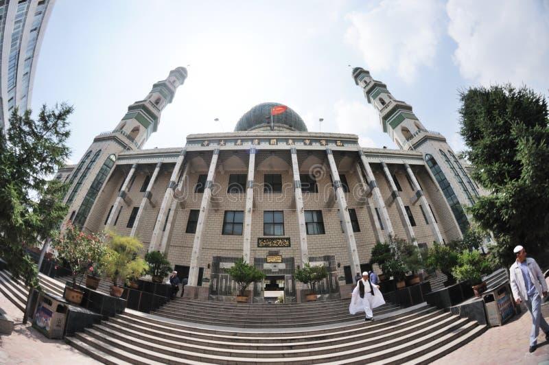 Мечеть Xining Dongguan стоковое изображение rf