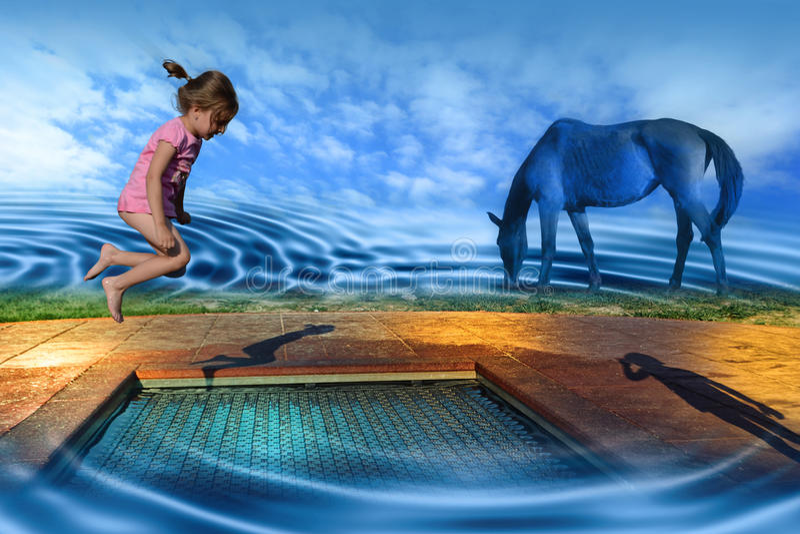 мечтает спортивная площадка стоковое изображение