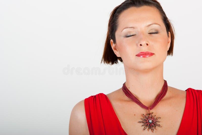 мечтайте красный цвет стоковая фотография rf