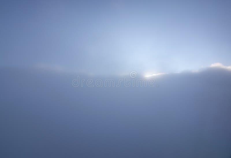 Мечтательное воздушное летание ландшафта облака стоковые фотографии rf