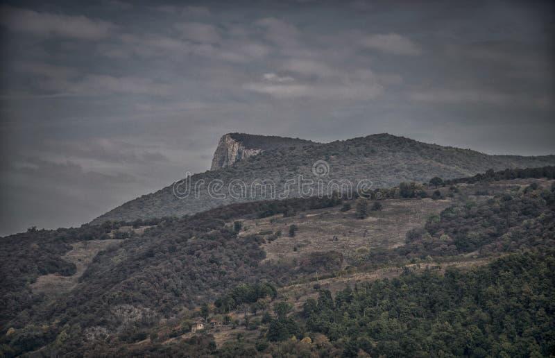 Мечтательные горы стоковое фото rf
