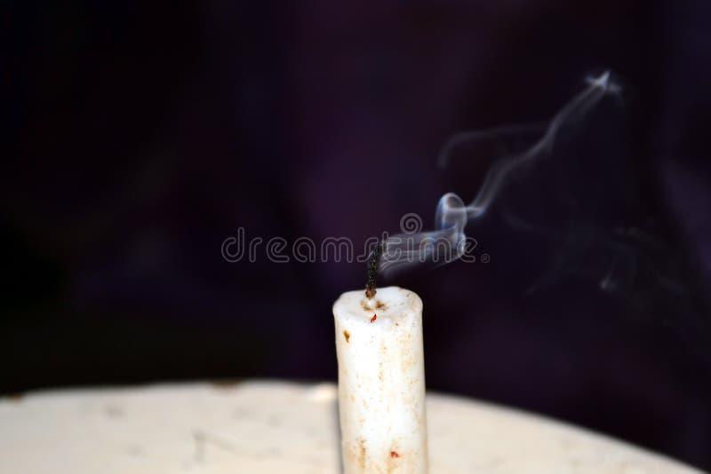 Мечтательный дым исчезая стоковые изображения rf