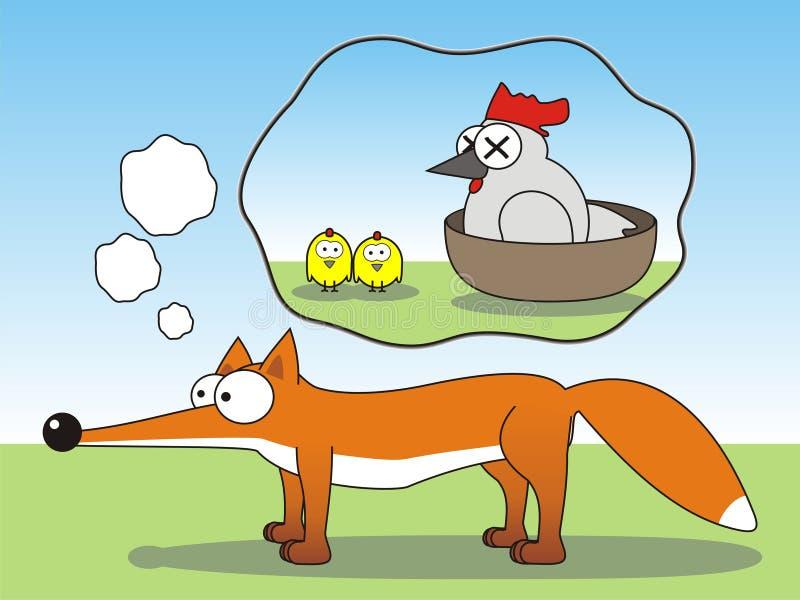 мечтать лисица стоковое изображение