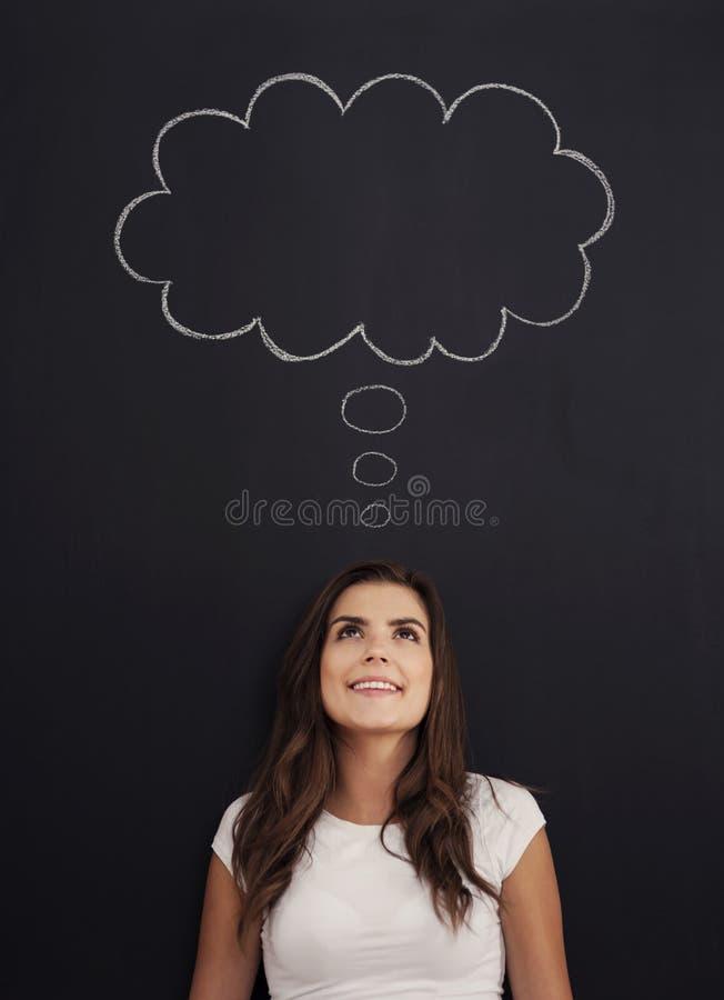 Мечтать о… стоковые изображения