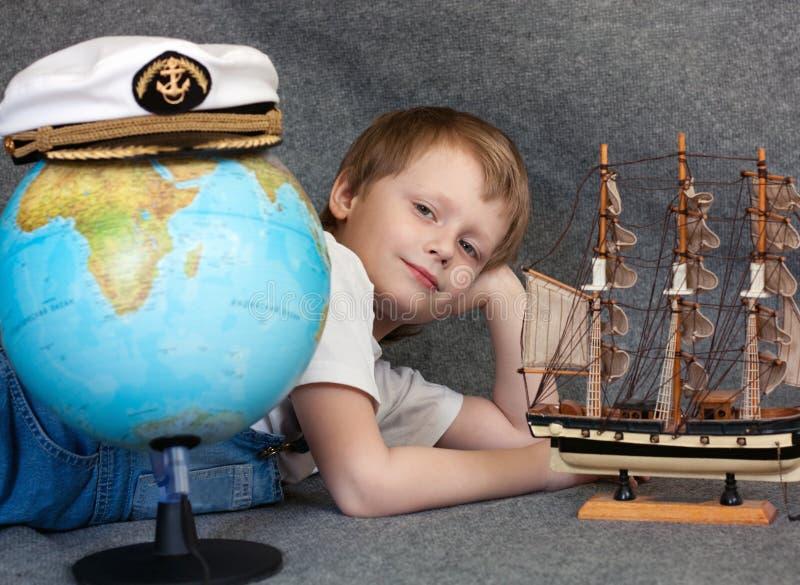 мечтать ребенка стоковое изображение
